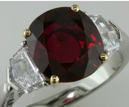 Fine 6 ct. Thai ruby, Bayco