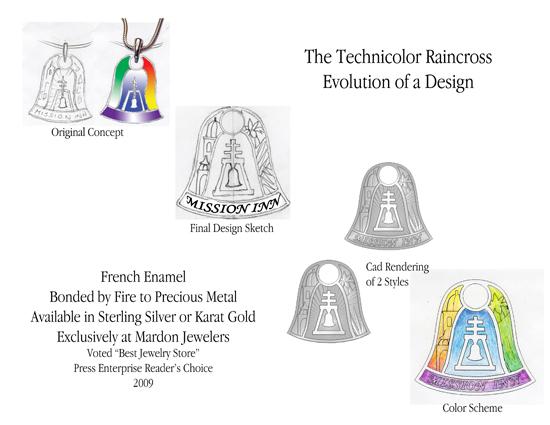 Technicolor Raincross Design