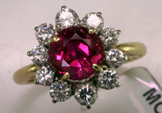 2 ct. Ruby ring
