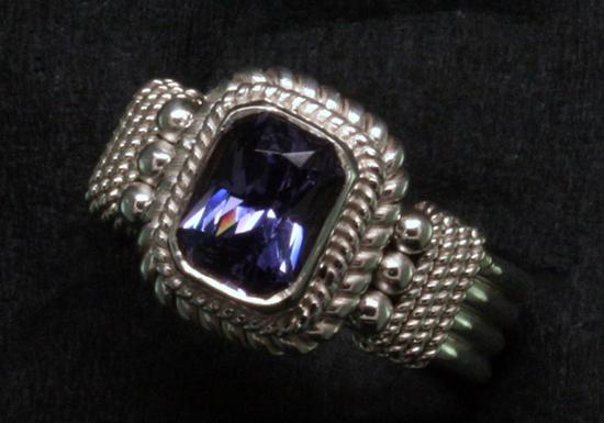 Blue-Violet Spinel
