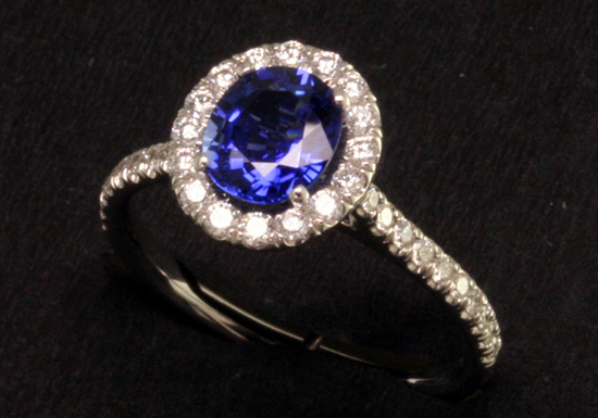 Colorful Engagement Rings are Center Stage