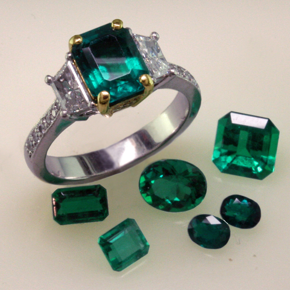 Fine Emeralds from Colombia and Zambia