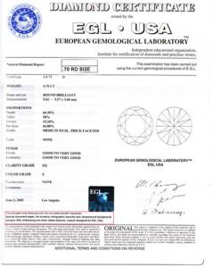 EGL report
