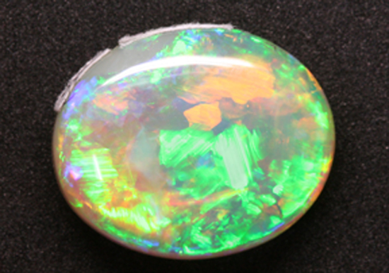 6.23 ct. Lightning Ridge Crystal, Back