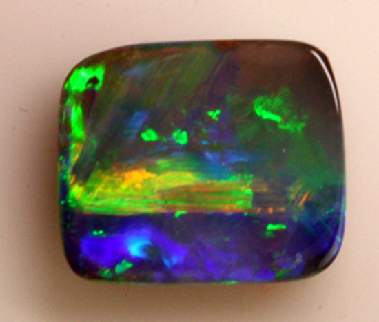 Baja Sunrise in Boulder Opal