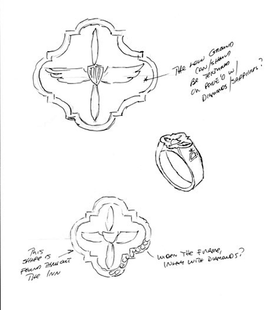 Design Concept for Flier's Wall Ring