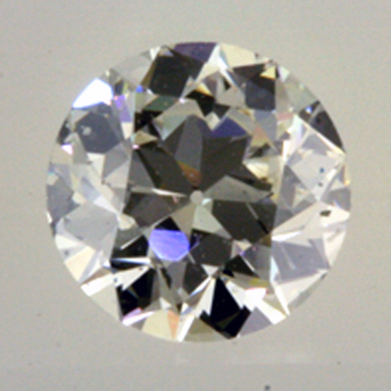 After recut, .75 ct.