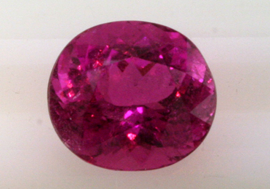 8.65 ct. Cuprian Elbaite, Before Heat Treatment