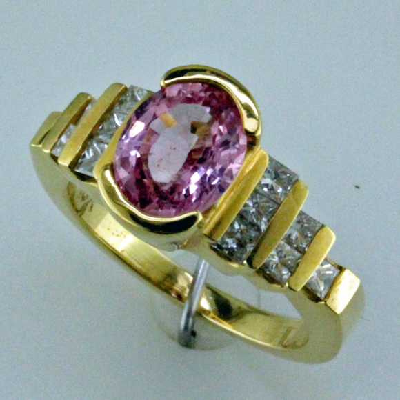 2 ct Pink Sapphire