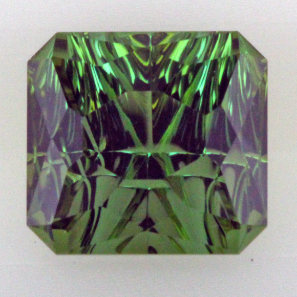 I-24742 Concave Cut 2.00 ct, Green Tourmaline