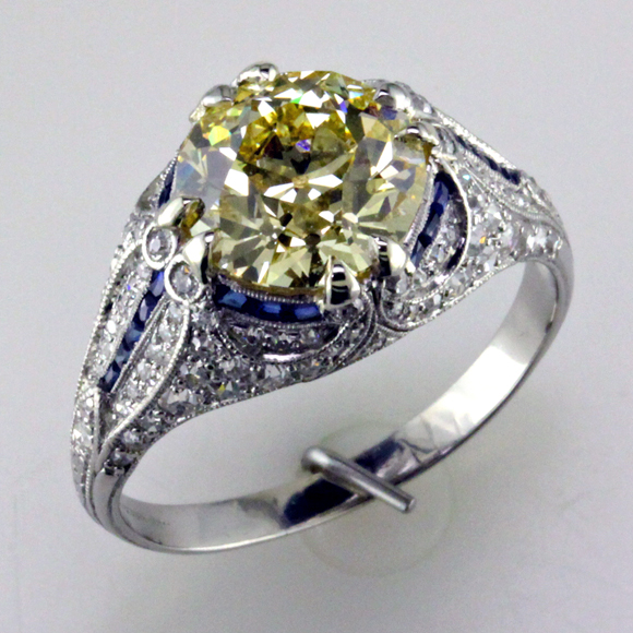 3.08 ct Yellow beauty blog