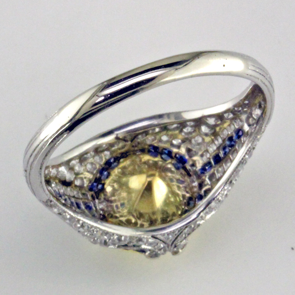3.08 ct Yellow under blog