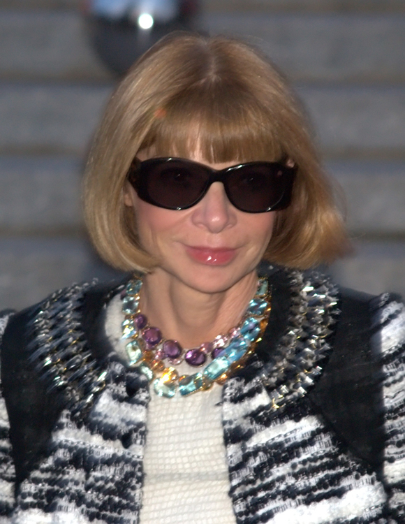 Anna Wintour & Antique Riviere Necklaces