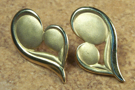 Precious Love Stud Earrings