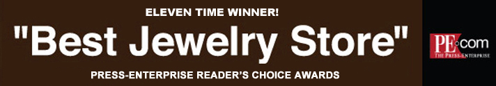 Press Enterprise Reader's Choice Best Jewelry Store