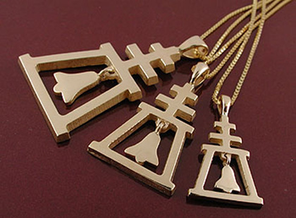 Traditional Raincross Pendant