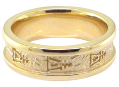Raincross Band Ring