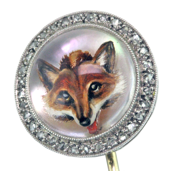 Essex Crystal Fox Pin