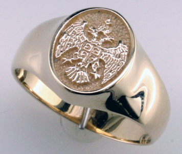 Family Crest Rings on Custom Family Crest Ring   Mardon Jewelers