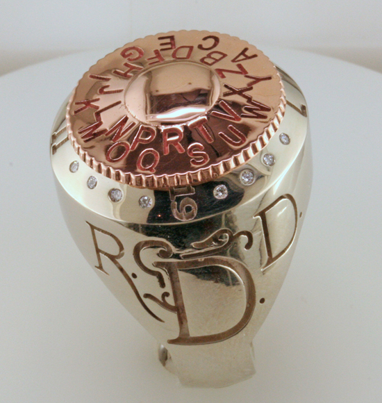 Vintage Dick Tracy Decoder Ring with
