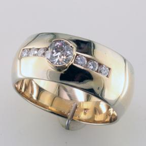 Custom Men S Diamond Ring Mardon Jewelers