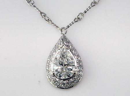 Custom diamond pendant mardon jewelers custom diamond pendant aloadofball Image collections