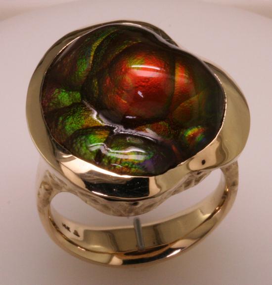 fire agate mens ring mardon jewelers