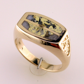 Custom GoldinQuartz Ring Mardon Jewelers