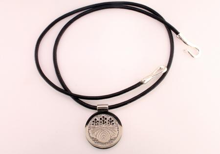 Custom Platinum Medallion - Mardon Jewelers