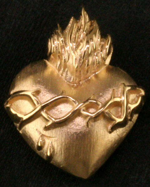 Sacred heart pendant mardon jewelers sacred heart pendant aloadofball Images