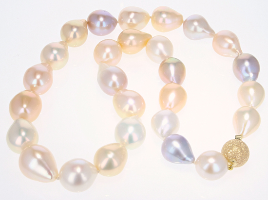 Multicolor Freshwater Cultured Pearl Necklace