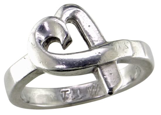 Vintage Tiffany Heart Ring